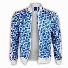 Мужская футбольная куртка в стиле ретро 90-92, тренировочная одежда, тренировочные футболки для взрослых, Мужская футболка для футбола