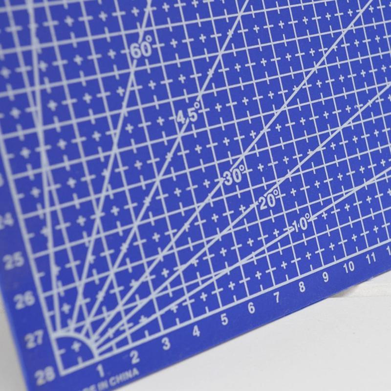 New 1Pc A3 Cutting Plate Pvc Rectangle Grid Lines Cutting Mat Plastic Diy Tools 45cm * 30cm School Office Supplies For Kids Gift 3