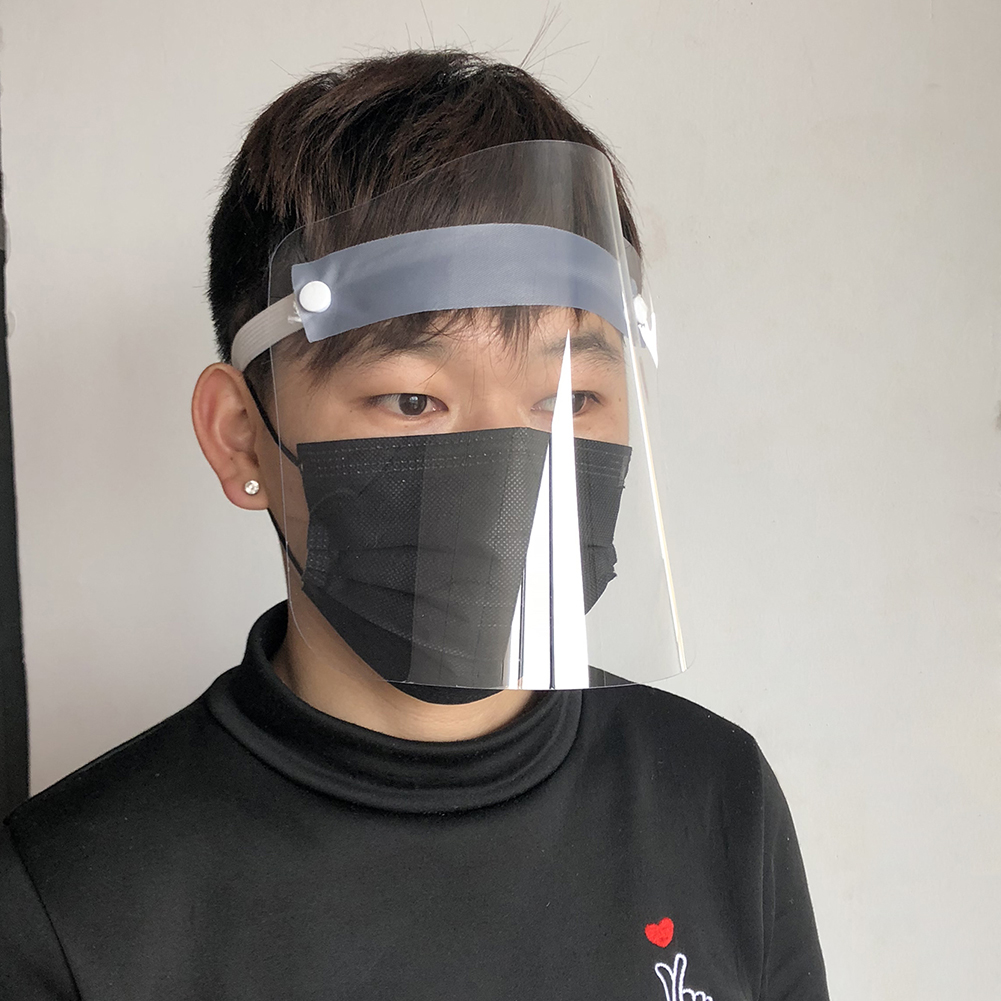Anti-fog Splash Face Full Mask For Kids Adult School Office Splash Mask Protective Covers For Kf94 N95 KN95 Ffp3 2 1 Face Mask