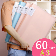 A3 Display Book Information Poster Book Children's Picture Album Picture Clip Storage Collection Book Folder  Picture File Bag