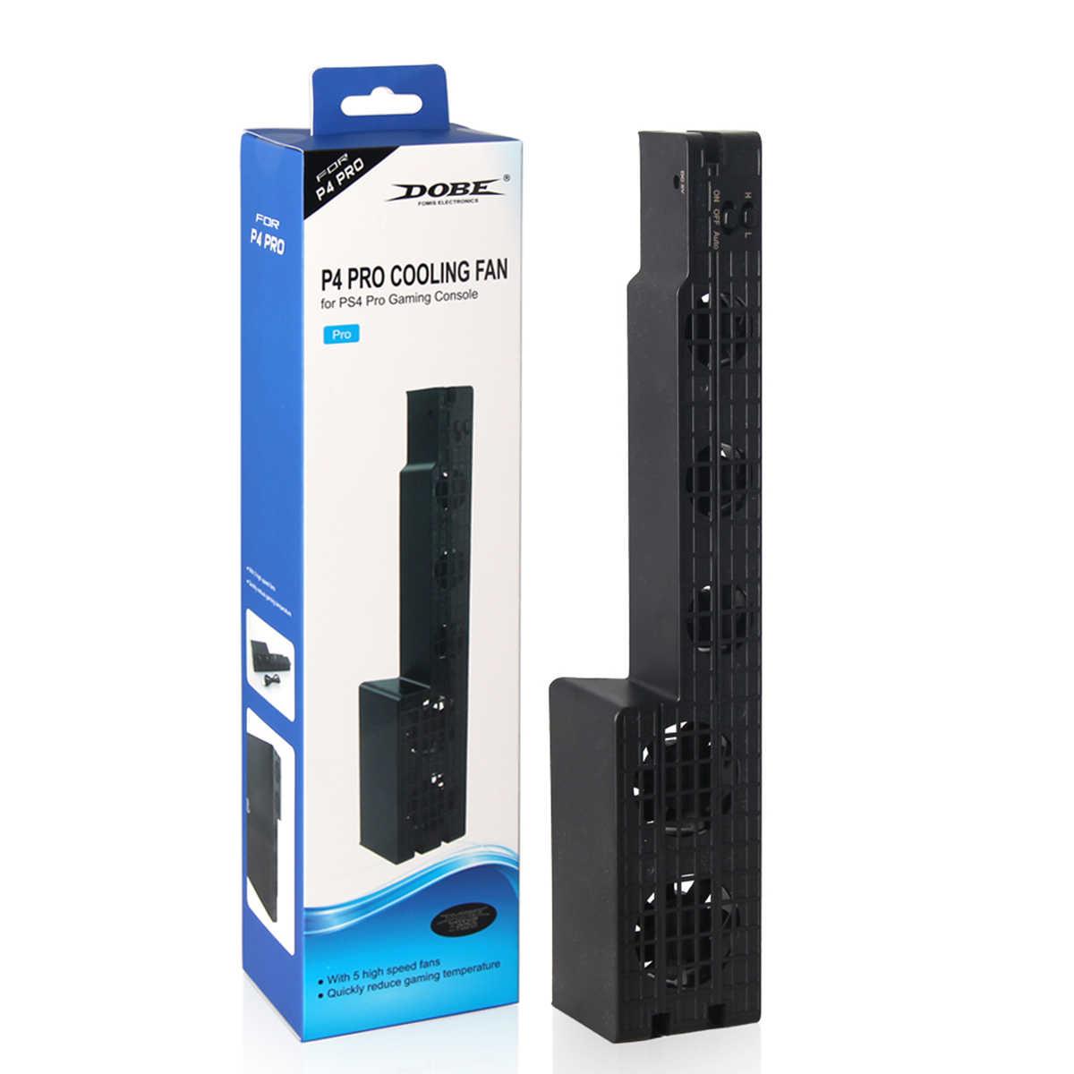 PS4 プロ冷却 PS4 プロゲームコンソールファン USB 外部 5 ファンスーパーターボ温度冷却ファンプレイステーション 4 プロ