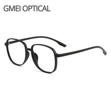 Gmei Optical M9159 Transparent Men Large Size Glasses Frames Ultralight TR90 Plastic Eyewear Women Big Myopia Spectacles Frame
