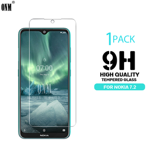 Image 1 - Tempered Glass For NOKIA 7.2 6.2 4.2 3 V 3.1 C 3.1 A 2.2 3.2 4.2 Screen Protector 9H Tempered Glass For Nokia 1 Plus X71 Film *