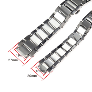 Image 2 - Watch accessories for HUBLOT classic fusion big bang stainless steel belt men and women bulge 19mm