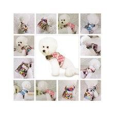 Fashion pet bohemian Pet Cat Dog chest strap Safety Walking Vest Clothes Cartoon Harness Leash Set Puppy Chest Strap