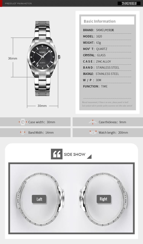 H5a8f2ec061344a9391b16535536834db5 2020 SKMEI Casual Women Romantic Quartz Watches Luxury Female Girl Clock Waterproof Ladies Wristwatches Relogio Feminino 1620