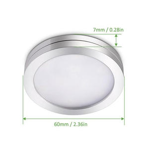 Image 3 - 3/4/6/8 PCS Under Cabinet Lighting Remote Control Dimmable LED Light Kitchen Under Counter Showcase Wardrobe Lights Night Lamp
