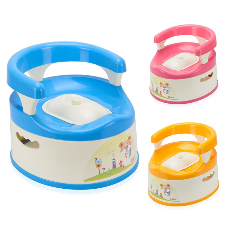 Large Size Toilet For Kids 1 Kids 2 GIRL'S 3 Infants 4 Baby Toilet 5-6-Year-Old Boy Potty Chamber Pot