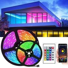 Bluetooth WIFI LED Light Strips Flexible Waterproof RGB 5050 Decoration BackLight Lamp Night light Luminous String For Bedroom