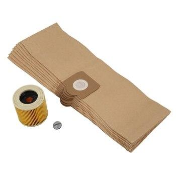 Сменный фильтр-очиститель для Karcher WD3 WD 3,300 M WD 3,200 WD3.500 SE 4001 SE 4002 WD3 P 6,959-130 мешочный фильтр