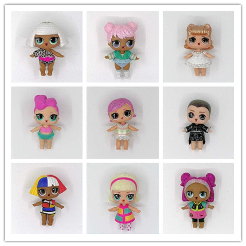 1 peças lols surpresa bonecas original l. o. l. Grande irmã glitter bebê com roupas coleção limitada crianças meninas presentes de aniversário