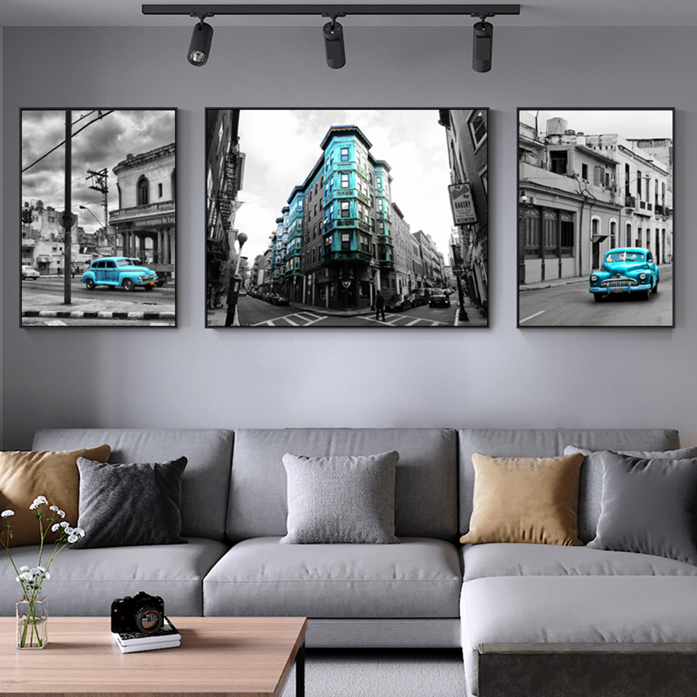 Abstract Civic Landscape Fashion Photography Canvas Painting Art Prints And Posters Wall Pictures For Living Room Decoration