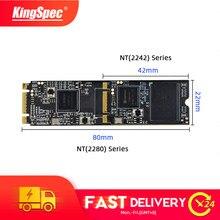 Ssd 128gb 1tb 256mm m2 sata ngff hdd para computador portátil ssd kingspec m.2 sata 2tb ssd 64gb 2242 gb 512gb 2280 mm ngff
