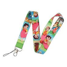 Хайде девушки Альп арт брелок ленты шейный ремешок для телефона