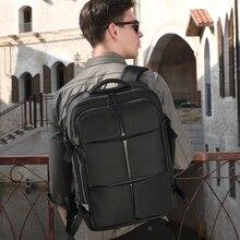 Роуи новый большой емкости Оксфорд спиннинг водонепроницаемый мужчины рюкзак бизнес сумка 15.6 дюймов ноутбук открытый отдых путешествия