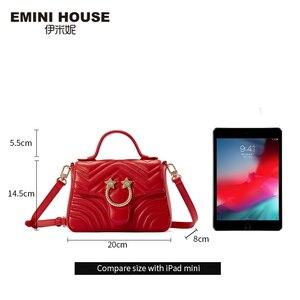 Image 4 - EMINI maison Star matériel en cuir véritable sac à main de luxe sacs à main femmes sacs concepteur sacs à bandoulière pour femmes sac à bandoulière