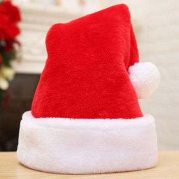 Ozdoby świąteczne kapelusze zagęścić pluszowe boże narodzenie kapelusze wysokiej klasy kapelusze dekoracyjne kapelusze produkty świąteczne dorośli nowy rok 2021 tanie i dobre opinie CN (pochodzenie) Dla dorosłych Tkaniny Christmas hat