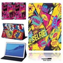 Regulowany składany stojak pokrywa dla Huawei MediaPad T3 8.0/MediaPad T3 10 9.6