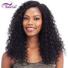 Perucas dianteiras de renda brasileira encaracolada para mulheres negras peruca frontal de 360 renda completa perucas de cabelo humano pré-arrancadas com cabelo de bebê