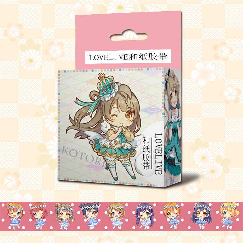 Vocaloid Hatsune Miku Paper Maksing Washi Tape Anime Cosplay Scrapbook Stickers