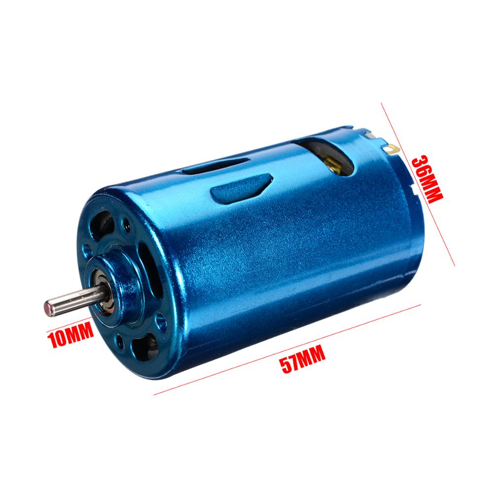 1pc DC High Speed Motor 12V 24V 30000RPM Large Torque Motor RS-550 Motor  Low Noise Motors For RC Car Boat Model