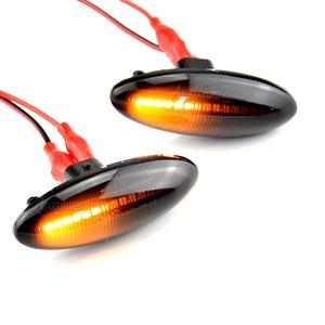 Image 5 - Para Toyota Yaris Mk2 P9 RAV4 Mk3 ACA3/ALA3 Auris Mk1 E15 llevó indicador lateral de señal de vuelta de las luces de secuencial intermitente lámparas