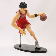 цена на 19CM Anime Slam Dunk Kaede Rukawa Figure PVC Action Slam Dunk Figures Collection Model