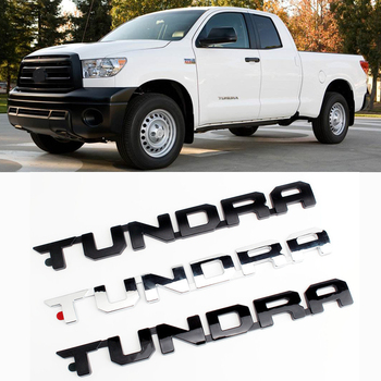 цена на 1pc for 1794 Edtion Platinum Tundra Chrome Rear Emblem for Toyota Tundra Door Side ABS Letter Sticker Fashion Car Modification