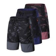 Быстросохнущие шорты для бега мужские спортивные дышащие на