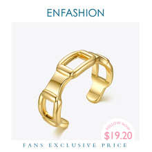 ENFASHION Hollow C Shape Bangles For Women Accessories Gold Color Open Bracelets Fashion Jewelry Gifts Pulseras Mujer B202160