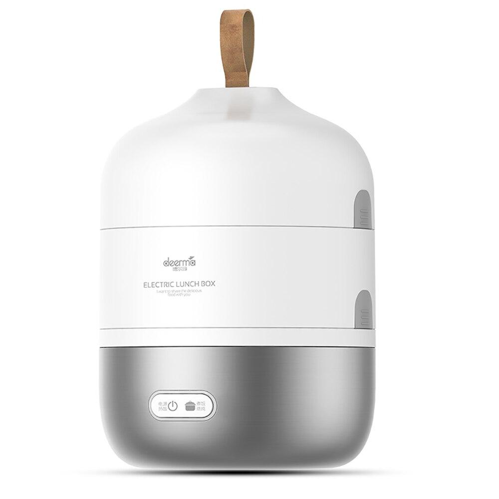2L boîte à déjeuner électrique Portable en acier inoxydable multi-fonction trois couches boîte à déjeuner chaleur rapidement Anti-échaudage boîte à Bento