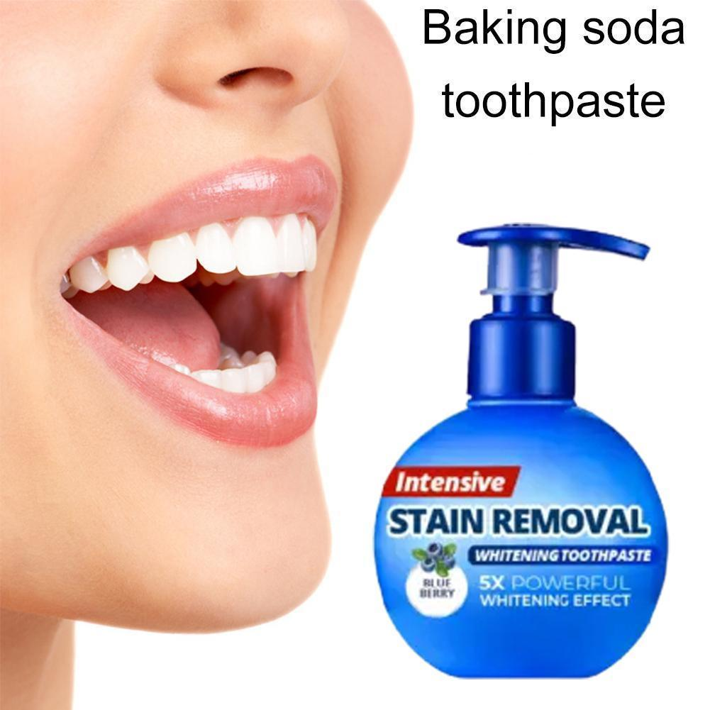 Toothpaste Whitening Teeth Stain Removal Tooth Whitening Toothpaste Blueberry Soda Gums Toothpaste Passion Bleeding Fruit F O0Y0