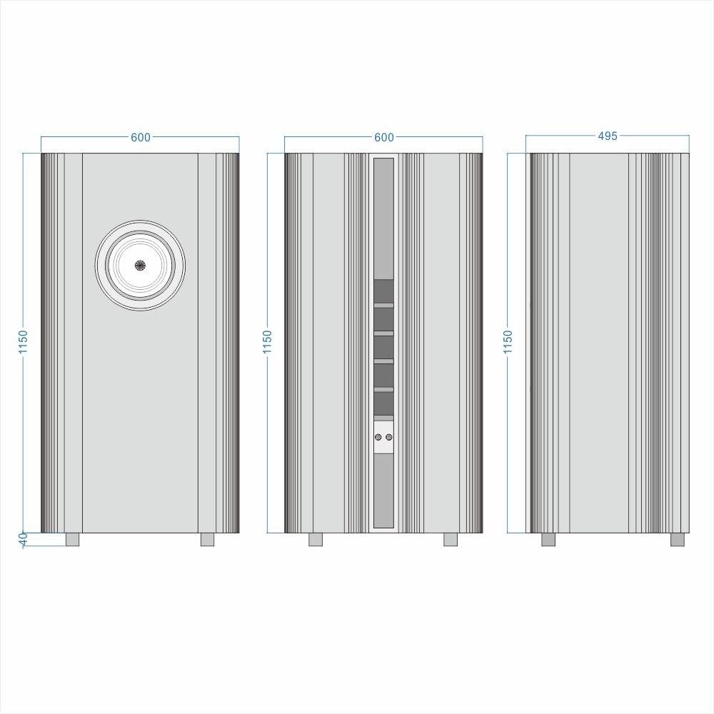 Crystal No.1 Speaker 2021 new Crystal-10 10 Inch Full Range Speaker 8ohm 100dB 32-20khz 50-80W 5