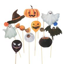 Halloween Creative Props Birthday Party Opponents Take Photo Props Pumpkin Bat Children Halloween Photo Props(China)