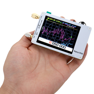 Nano VNA Vector Network Analyzer 50KHz-900MHz Digital Touching Screen Shortwave MF HF VHF UHF Antenna Analyzer Standing Wave(China)