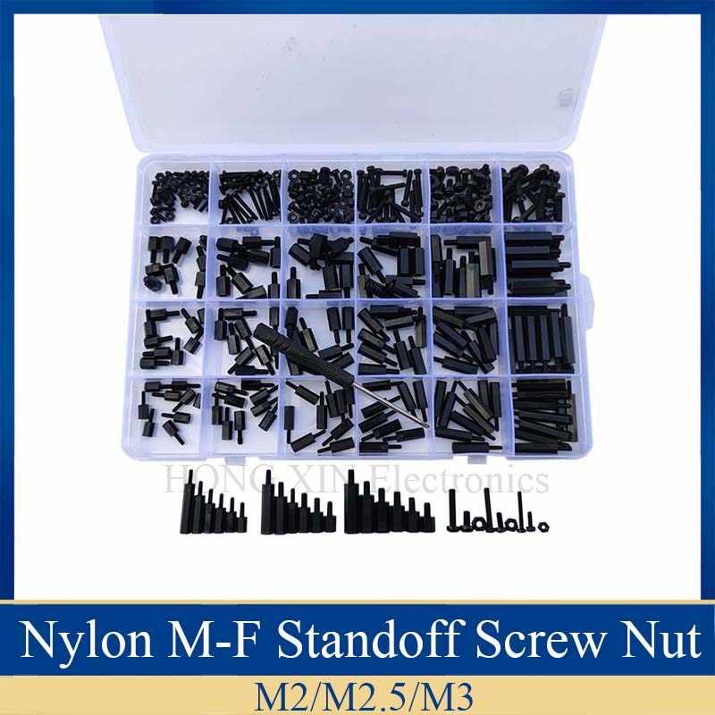360pcs Nut /& Bolt Assortment Kit M2 Cross Stainless Steel Screw Bolt Nut Washer Assortment Set
