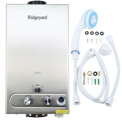 12L LPG Gas Propan Instant Tankless Heißer Wasser Heizung Kessel w/Dusche