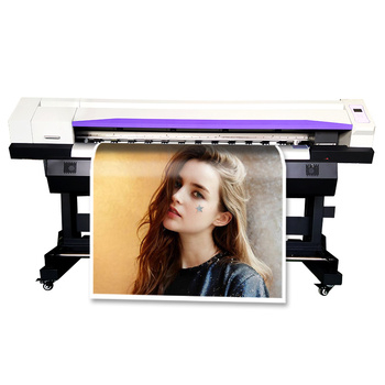 5Ft Outdoor Inkjet Printer Xp600 Head Large Format Solvent Printer China Color Billboard Vinyl Printing Machine