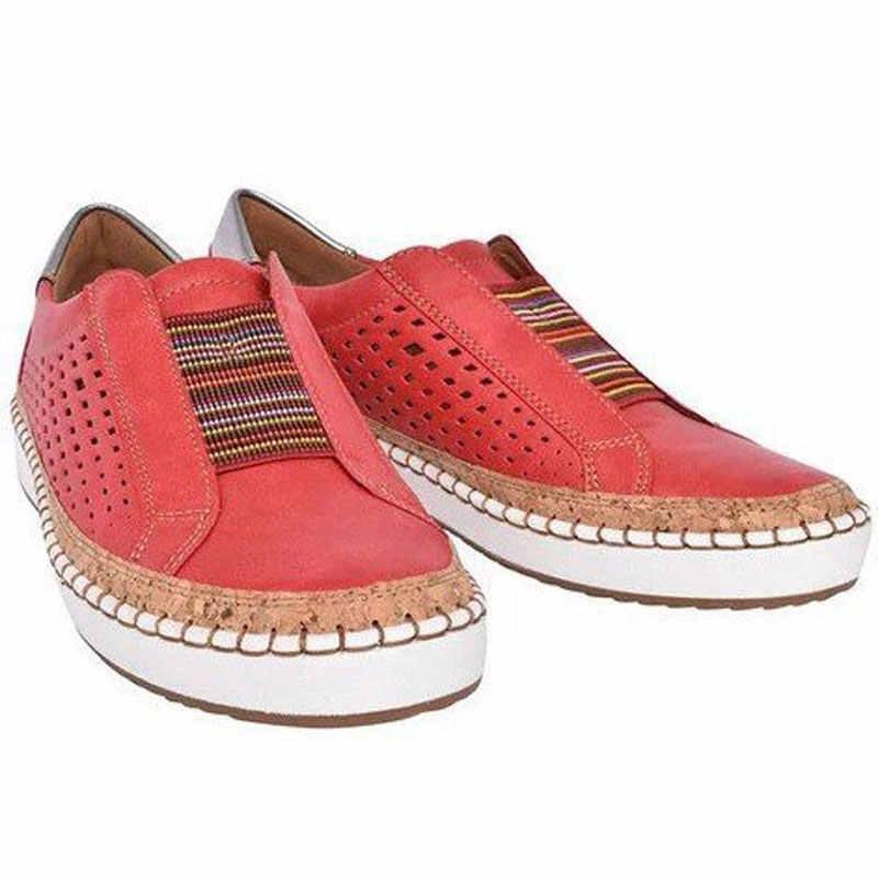 Yeni moda sonbahar düz renk yuvarlak ayak kadın düz ayakkabı kadın kalın platform rahat ayakkabılar kadın ayakkabı artı boyutu