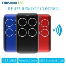 مستقبل ترددات لاسلكية لاسلكية رمز التعلم فك 433MHz مفتاح تحكم عن بعد 4 قناة تحكم لتقوم بها بنفسك مفتاح لترميز التبديل 1527