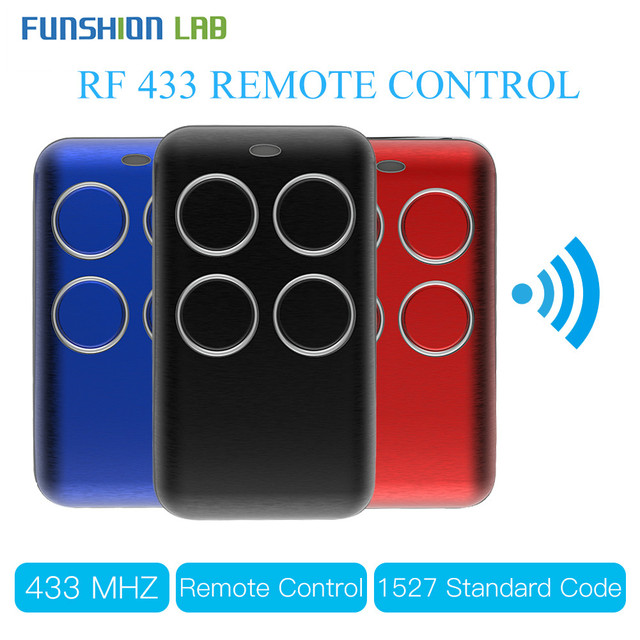 Wireless RF Receiver Learning Code Decoder 433MHz Remote Control Key 4 Channel Controller DIY Key for Switch Encoding 1527