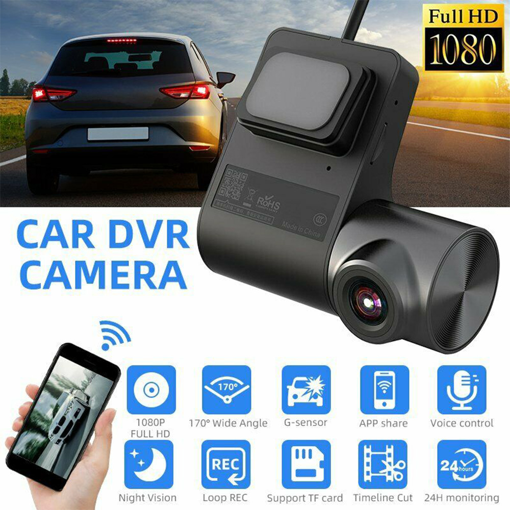Wireless WiFi Hidden Car DVR Full HD 1080PCar Dash Cam Auto Digital Video Recorder Dashcam Camera G Sensor Night Vision Car DVRs|DVR/Dash Camera| - AliExpress
