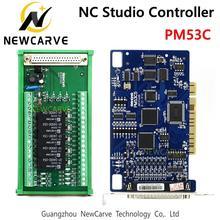 PM53C Nc סטודיו 3 ציר בקר תואם WEIHONG שליטה מערכת עבור CNC נתב NEWCARVE
