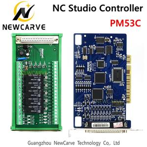 Image 1 - PM53C Nc Studio 3 Axis Controller Compatibel Weihong Controlesysteem Voor Cnc Router Newcarve