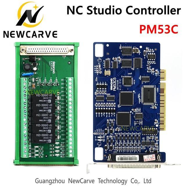 PM53C Nc Studio 3 Axis Controller Compatibel Weihong Controlesysteem Voor Cnc Router Newcarve