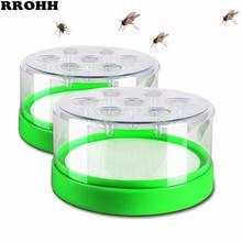 効果的なフライトラップ害虫制御キラーホテルレストランホーム屋内自動アーティファクトキャッチフライキラー昆虫トラップ昆虫