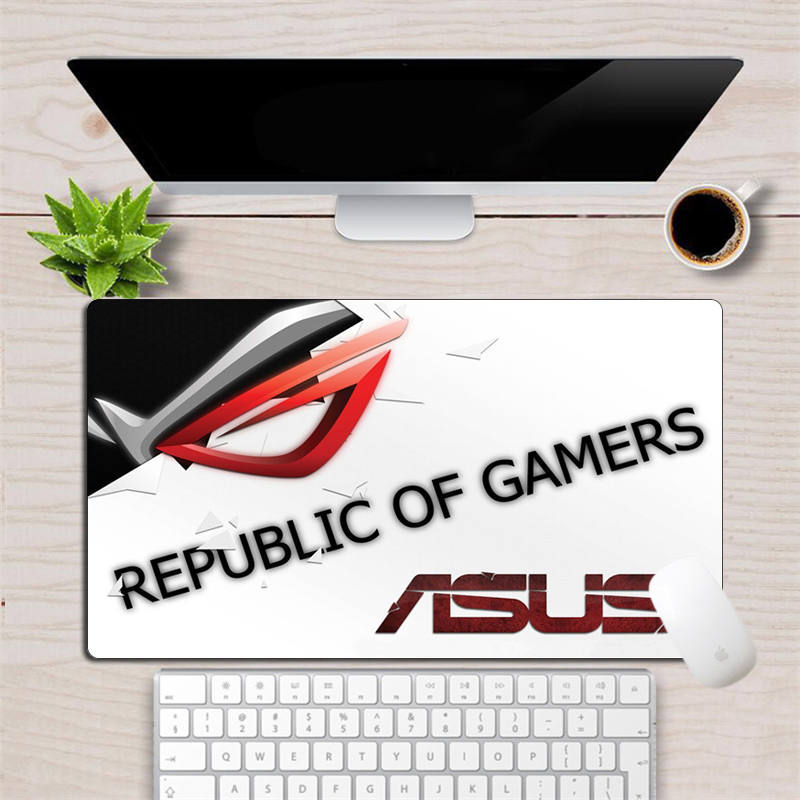 60x35cm Republic Of Gamers Mouse Pad ASUS Large Cool Eye Logo  Custom Gaming Mousepad Custom Computer Keyboard Laptop Desk Mat