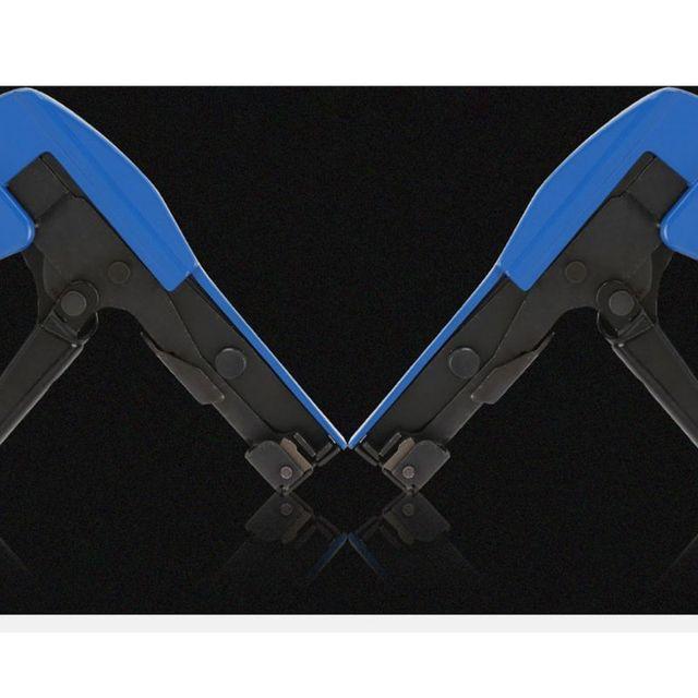 Mini Adjustable Nylon Cable Zip Tie Gun Installation Plier Nylon Fastener Tensioner Cutting Tensioning Tool 2.4-4.8mm
