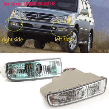 цена на fog light for LEXUS LX470 1998 1999 2000 2001 2002 2003 2004 2005 2006-2008 Driving Lamps Front Bumper Fog Lights Fog Lamp