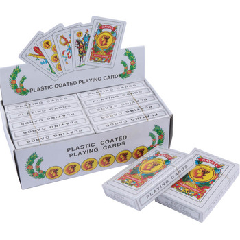 цена на Spanish Classic Playing Cards for infrared Contact lens Magic Trick Decks Anti Gamble Cheat Poker Rigged Cards